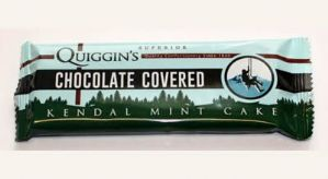 Quiggins Chocolate Covered Kendal Mint Cake 50g